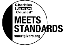 Charity Review Council Meets Standards logo