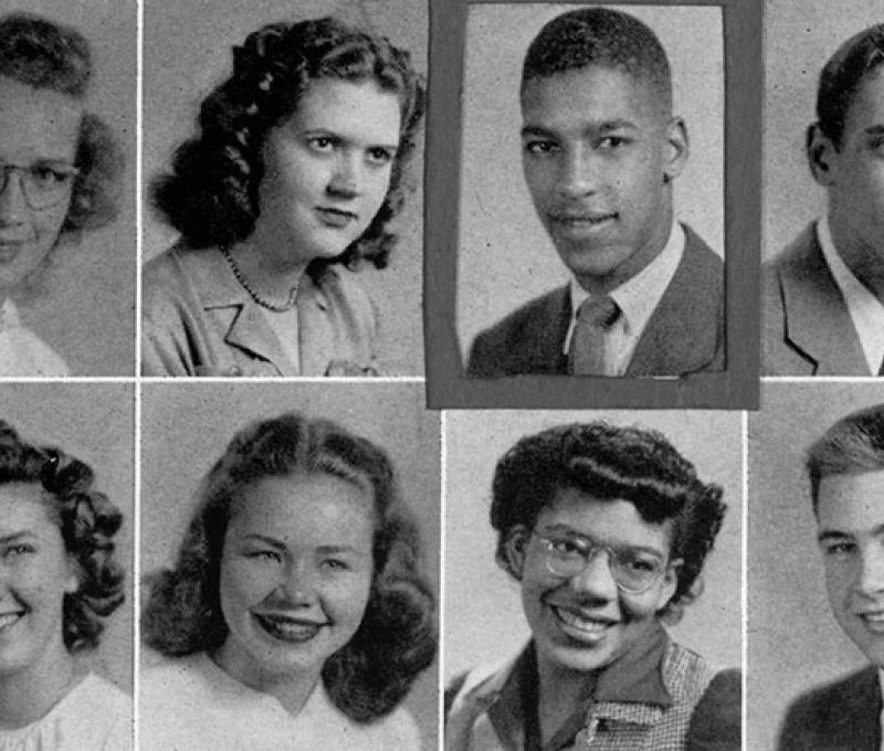 Collection of yearbook photos from digital collections